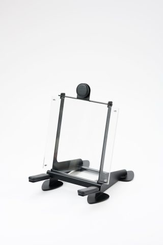 Best Of acrylic frame extra padded guitar stand for your best concert/tickets memories